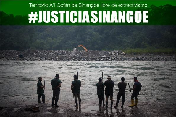Jueces de Sucumbíos preparan posible visita al sitio afectado en el rio Aguarico