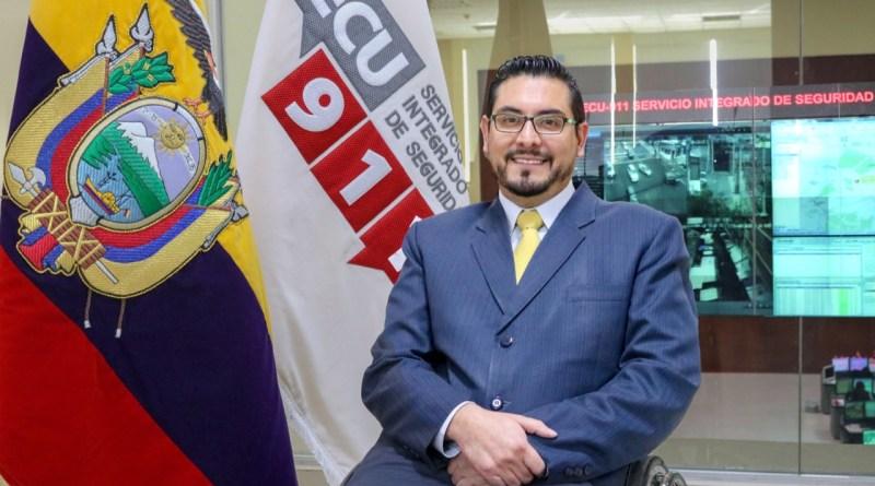 Stalin Basantes Moreno asume la Dirección General del ECU 911