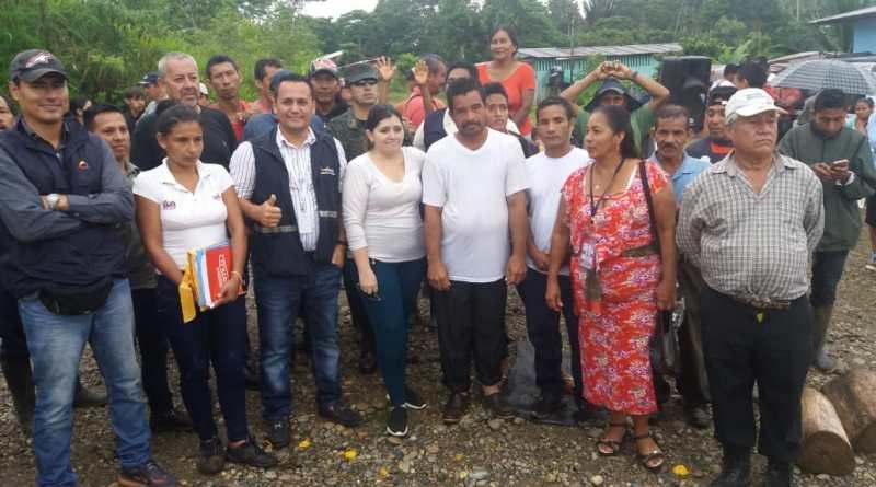 Comunidad Santa Rosa de Ocano puso fin a la medida de hecho luego de la firma de acuerdos con la compañía Orion