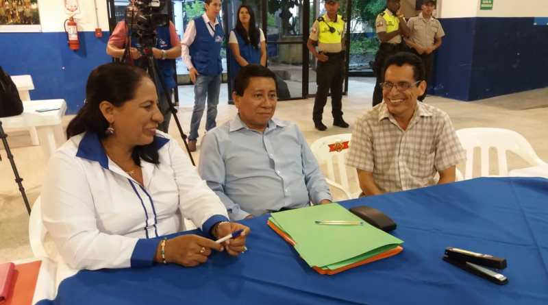 Grefa – Garofalo inscribieron sus candidaturas a la prefectura de Sucumbíos