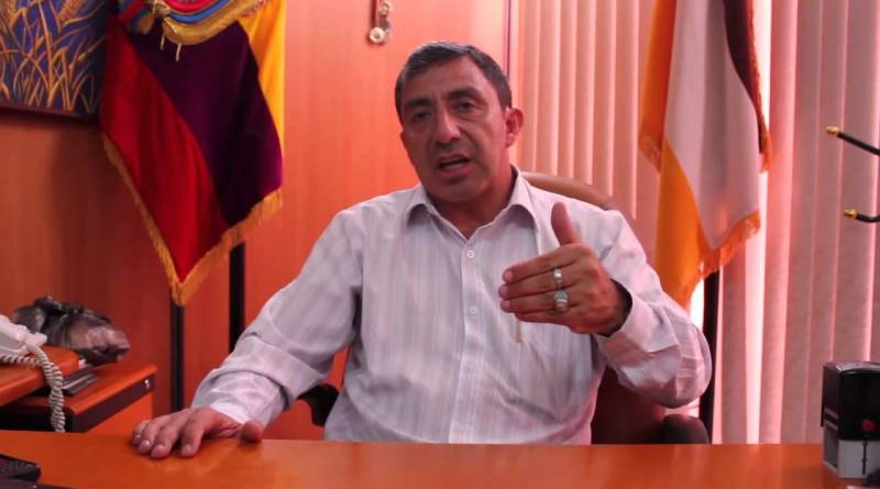 Oswaldo Calvopiña objeta candidatura del ex prefecto Orlando Grefa
