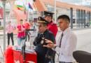 Cuerpo de bomberos del cantón Lago Agrio realizó cambio de jefe