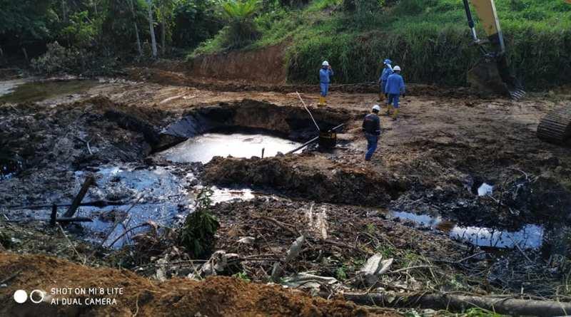 Afectados por derrame de petróleo piden evalúen el desastre