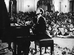 Van Cliburn at the Tchaikovsky Competition, 1958