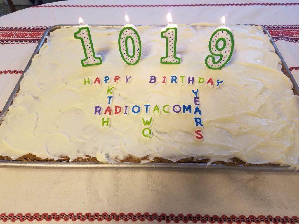 Happy Birthday Cake for Radio Tacoma