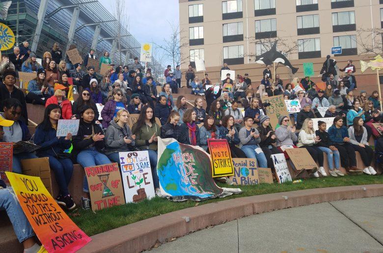 December 6, 2019 Climate Strike in Tacoma, WA