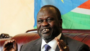 File photo: Former first vice president Riek Machar