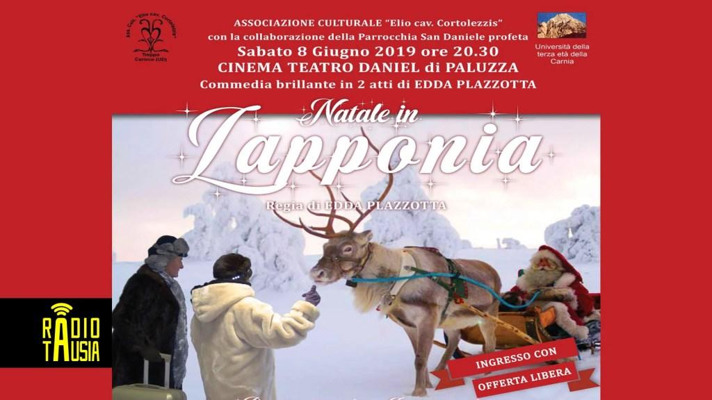 """La commedia """"Natale in Lapponia"""" al Cinema Daniel di Paluzza, sabato 8 Giugno"""