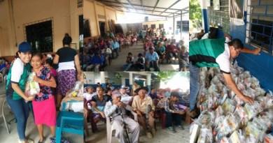 Manuel Aguilar Fundation, ayudando a los adultos mayores de Tecoluca