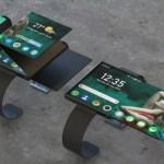 Este diseño de reloj inteligente plegable ofrece a Apple y Samsung una carrera por su dinero