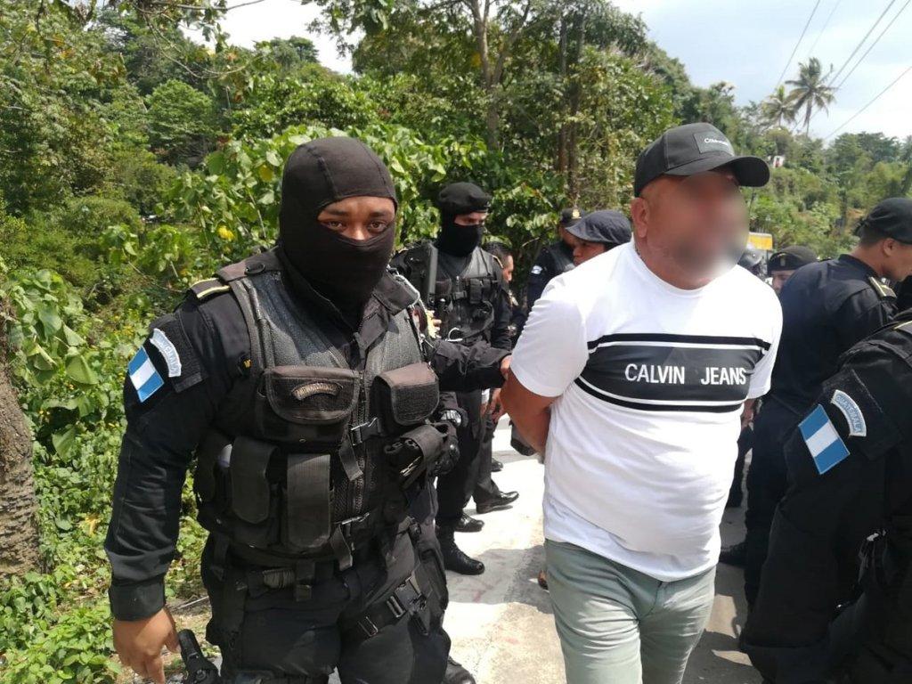 La Policía Nacional Civil, capturó a Rony Alexander Ortiz Chamalé, hermano de Juan Ortiz Chamalé.