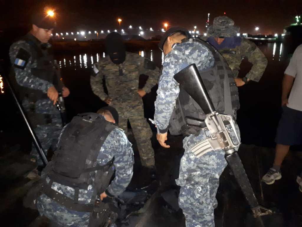 Interceptan lanchas con droga en aguas del pacífico de Guatemala