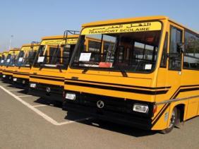 صورة وزارة الداخلية: 7 ألاف حافلة نقل مدرسي لفائدة تلاميذ المناطق النائية