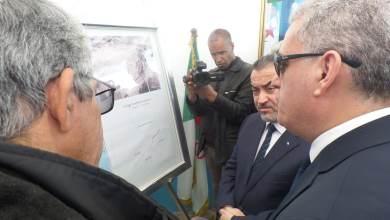صورة وزير الموارد المائية في زيارة عمل لولاية تيارت