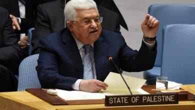 """صورة الرئيس عباس يؤكد مجددا أمام مجلس الأمن رفض الفلسطينيين ل""""صفقة القرن"""""""