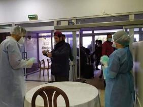 صورة اجلاء الرعايا الجزائريين العالقين بتركيا : وصول الفوج الأول إلى الجزائر