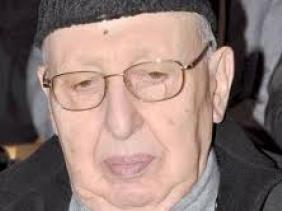 صورة وفاة رئيس الحكومة الأسبق بلعيد عبد السلام