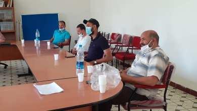 صورة المجتمع المدني المهيكل ببلدية مهدية يطلق مبادرة تضامنية
