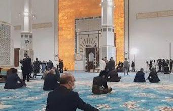 صورة جامع الجزائر: افتتاح قاعة الصلاة بمناسبة ذكرى المولد النبوي الشريف