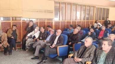 صورة انتخاب السيد معيزة ناصر رئيسا لفريق شباب فوز فرندة