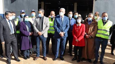 صورة زيارة وزيرة البيئة السيدة نصيرة بن حراث