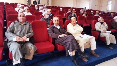 صورة تحضيرا لافتتاح المساجد لصلاة الجمعة
