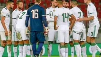 صورة المنتخب الوطني يجرى أول حصة تدريبية بمشاركة 21 لاعبا