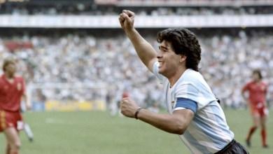 صورة وفاة الأسطورة الارجنتينية دييغو مارادونا