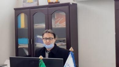 صورة ضيف التحرير – مدير مطار عبد الحفيظ بوصوف