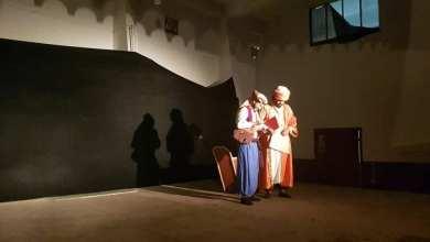 صورة عرض مسرحي بعنوان رهان صديقين بدار الشباب سنوسي البودالي بالرحوية