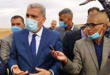 صورة صور من زيارة والي ولاية تيارت السيد محمد الأمين درامشي إلى دائرة السوقر و بلدية سي عبد الغني