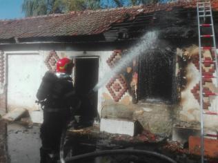incendiu cladire dezafectata 1