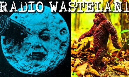 Radio Waste Land #01 Show Introduction, Bigfoot and Moon Conspiracies