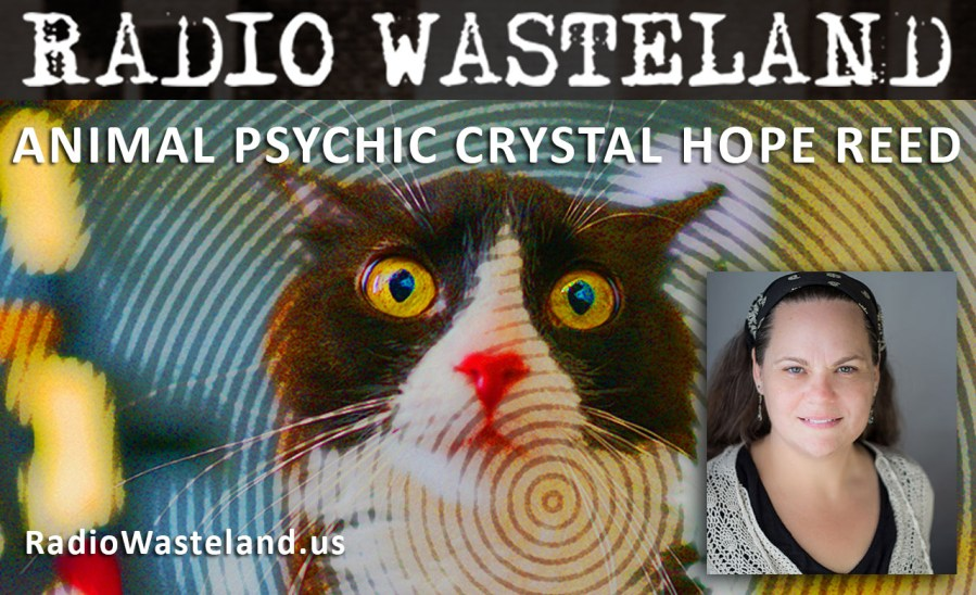 Radio Wasteland #21 Animal Psychic Crystal Hope Reed