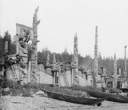 Totem Poles of the Haida People
