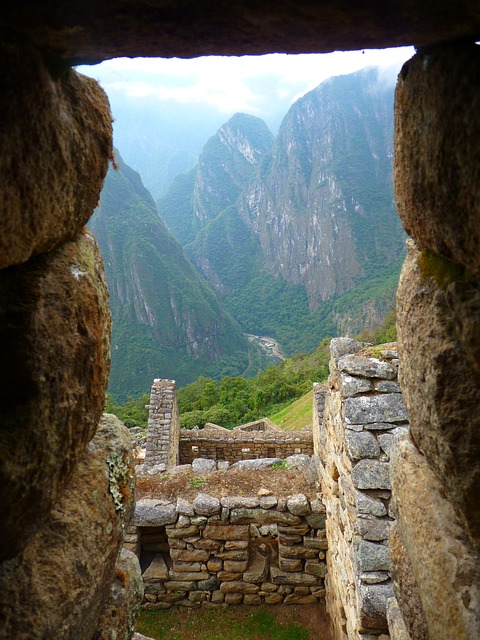 Megalithic structures in Peru