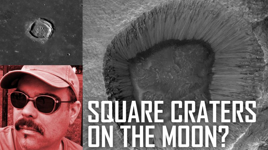 Are There Square Craters Forming on the Moon?