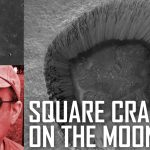 Are There Square Craters on the Moon