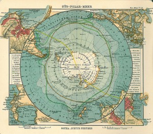 Map of Antarctica