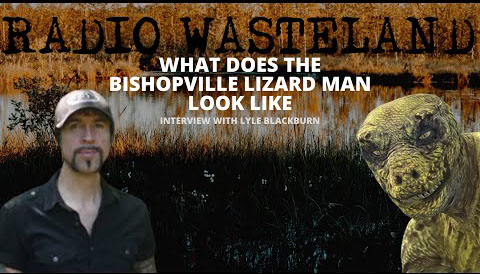 What does the Bishopville Lizard Man Look Like