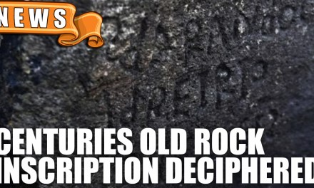 Centuries Old Rock Inscription Deciphered