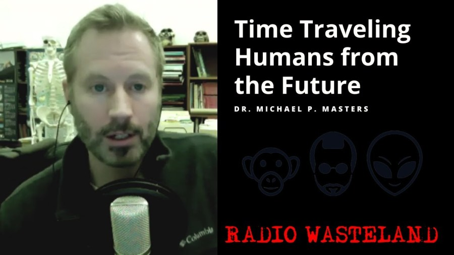 Time Traveling Humans from the Future: What do they want?
