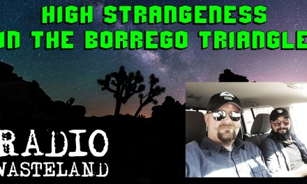 High Strangeness in the Borrego Triangle