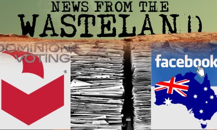 Dominion Voting, Facebook vs. Australia and CIA released UFO files