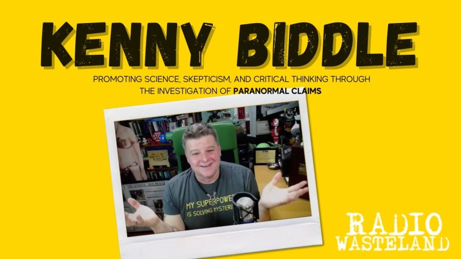 Kenny Biddle Investigates Paranormal with Critical Thinking & Skepticism