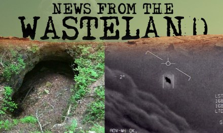 Gov UFO Report and Shots Fired at a Bigfoot in Mammoth Cave National Park