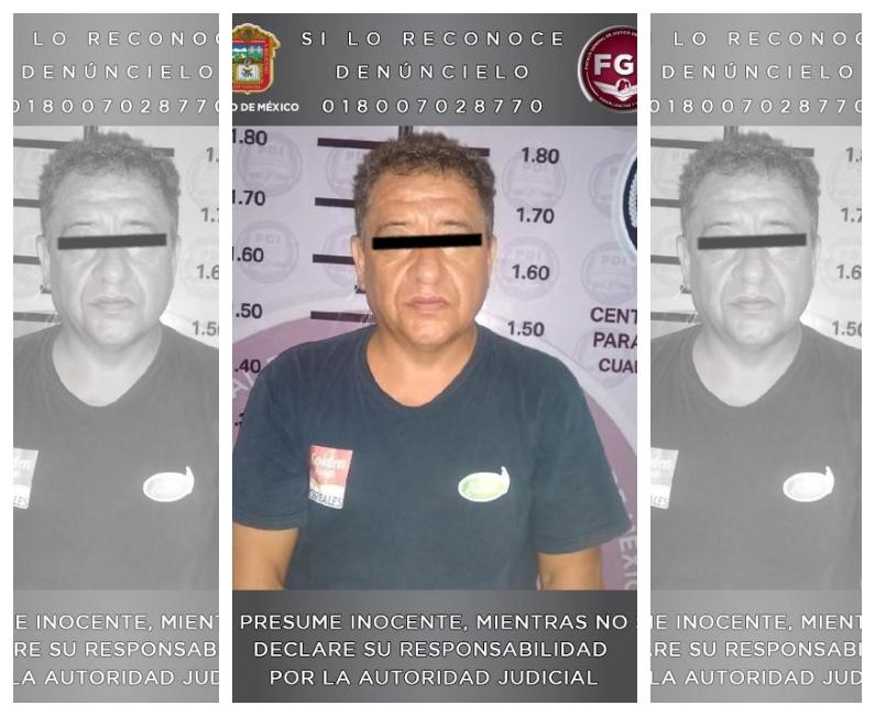 PROCESAN A PRESUNTO VIOLADOR SERIAL DETENIDO POR LA FGJEM EN JALISCO