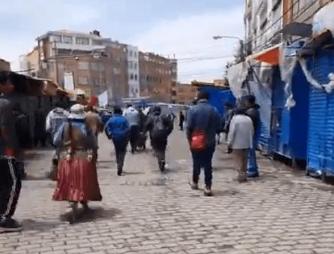 LLLAMA LA OEA A LA PACIFICACIÓN EN BOLIVIA