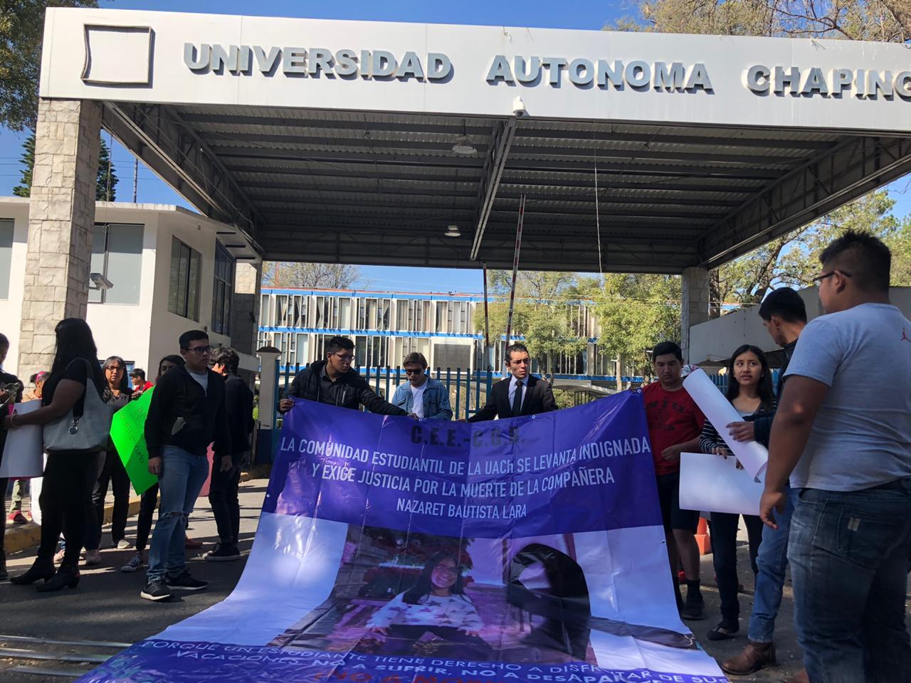 EXIGEN JUSTICIA Y SEGURIDAD EN UNIVERSIDAD DE CHAPINGO