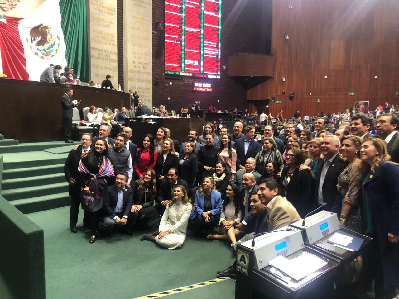 RECHAZAN DIPUTADOS REFORMA PARA RECORTAR 50% DEL PRESUPUESTO A PARTIDOS POLÍTICOS